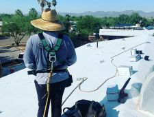 Joey B Installers on Roof August 8  2019 01  1