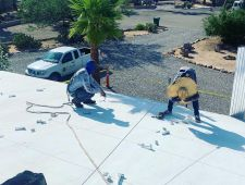 Joey B Installers on Roof August 8  2019 02  1