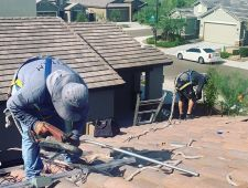 Joey B Installers on Roof August 8  2019 04  1