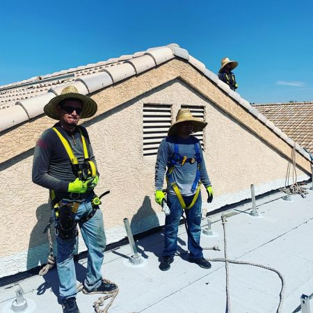 Joey B Installers on Roof August 8  2019   1